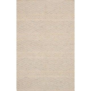 ecarpetgallery Tribeca Yellow Wool Kilim (4'0 x 6'0)