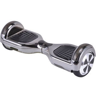MotoTec Black Chrome 6.5-inch 36v Hoverboard Scooter with Bluetooth