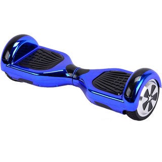MotoTec Blue Chrome 6.5-inch 36v Hoverboard Scooter with Bluetooth