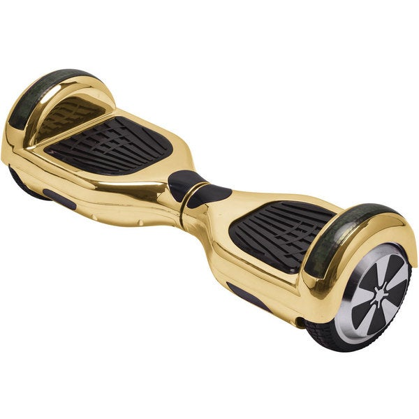 MotoTec Gold Chrome 6.5-inch 36v Hoverboard Scooter with Bluetooth