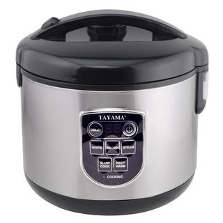 MICOM Digital Rice Cooker and Food Steamer (8-Cup Capacity)