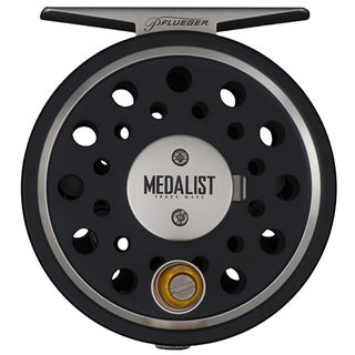 Pflueger Medalist 5/6 Reel Size, Gear Ratio: 1.1:1. WF5+125 Line Capacity, Ambidextrous Fly Reel
