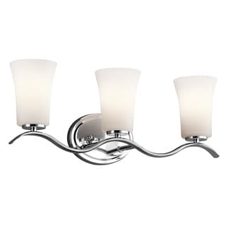 Kichler Lighting Armida Collection 3-light Chrome Bath/Vanity Light