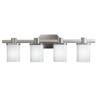 Kichler Lighting Lege Collection 4-light Brushed Nickel Bath/Vanity Light