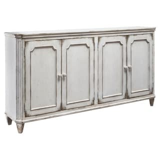 Signature Design by Ashley Mirimyn Antique White Accent Cabinet Credenza