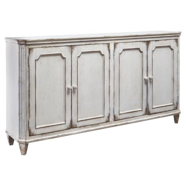Mirimyn Antique White Vintage Accent Cabinet. Opens flyout.