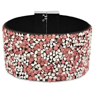 Black Velvet Peach Cubic Zirconia Bracelet