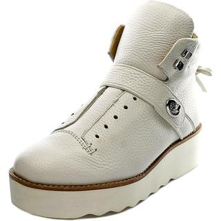 Coach Women's 'Urban Hiker' Off-white Leather Boots