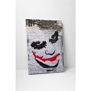 Banksy 'Batman Joker' Gallery-wrapped Canvas Wall Art