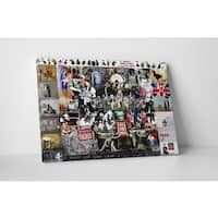 Banksy 'Megamix Collage' Gallery Wrapped Canvas Wall Art