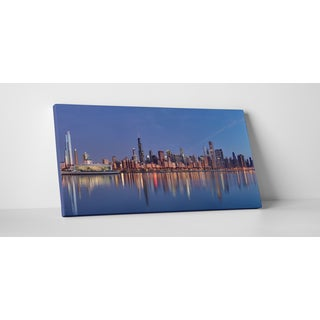 City Skylines 'Chicago, Illinois' Gallery-wrapped Canvas Wall Art