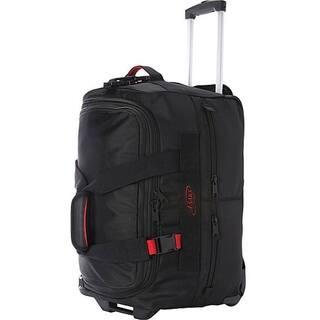 Asaks Black Ballistic Nylon 20-inch Expandable Carry-on Rolling Duffel Bag|https://ak1.ostkcdn.com/images/products/13468913/P20156382.jpg?impolicy=medium