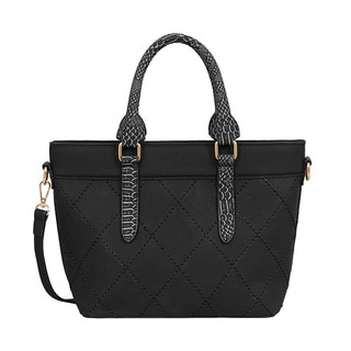 Mellow World Nala Black Satchel Handbag