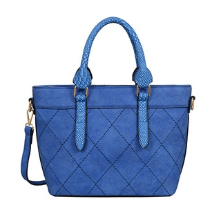 Mellow World Nala Blue Satchel Handbag