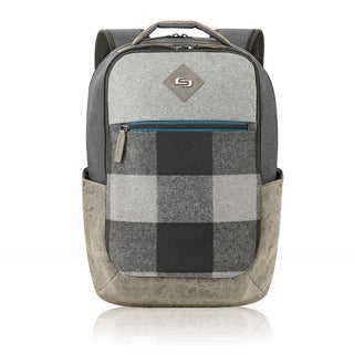 Solo Urban Nomad Grey Polyester 15.6-inch Laptop Backpack