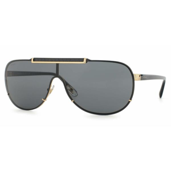 2eafa88708 Shop Versace Mens VE2140 100287 Gold Metal Cateye Sunglasses - Free ...