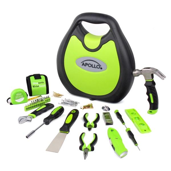 Apollo Green 72-piece Household Tool Kit
