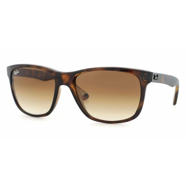 a0919b0d4c Shop Ray Ban Mens RB4181 710 51 Havana Plastic Square Sunglasses ...