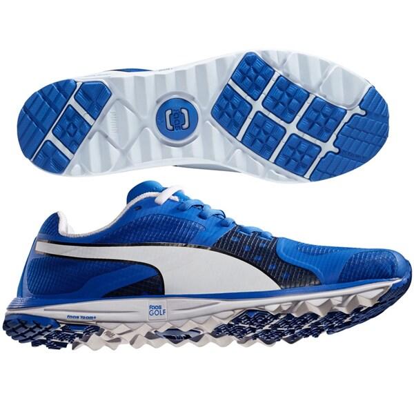 PUMA FAAS Xlite Golf Shoes 18758603 Blue/White/Black