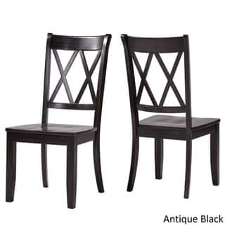 Buy Black Wood Kitchen Dining Room Chairs Online At Overstock