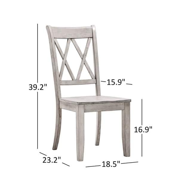 Ideas About Double X Back Dining Chairs White