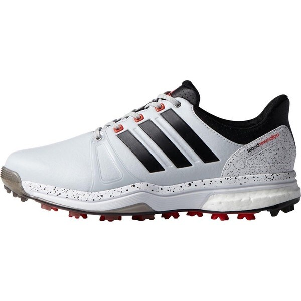 Adidas Adipower Boost 2 Golf Shoes Clear Gray/Black