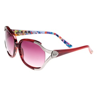Deluxe Comfort Women's The Beatles Pink Collectible Limited Edition Sunglasses