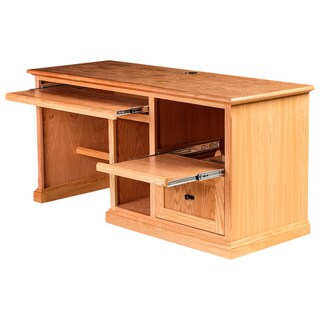 Forest Designs 60-inch Alder/ Oak Mission Desk