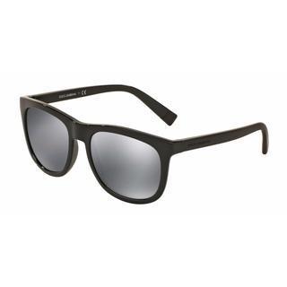 Dolce & Gabbana Mens DG6102 501/6G Plastic Plastic Square Sunglasses
