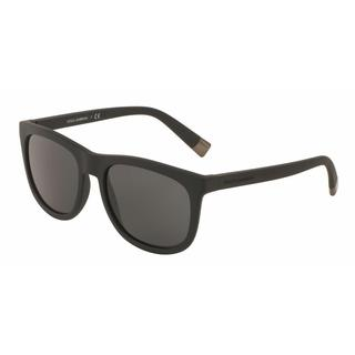 Dolce & Gabbana Mens DG6102 193487 Plastic Plastic Square Sunglasses