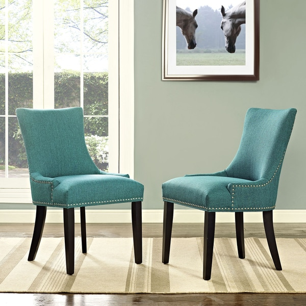 Porch & Den Helen Fabric Upholstered Dining Chair (Single Chair). Opens flyout.