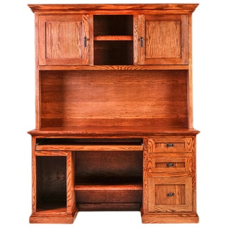 Forest Designs Mission Desk and Hutch
