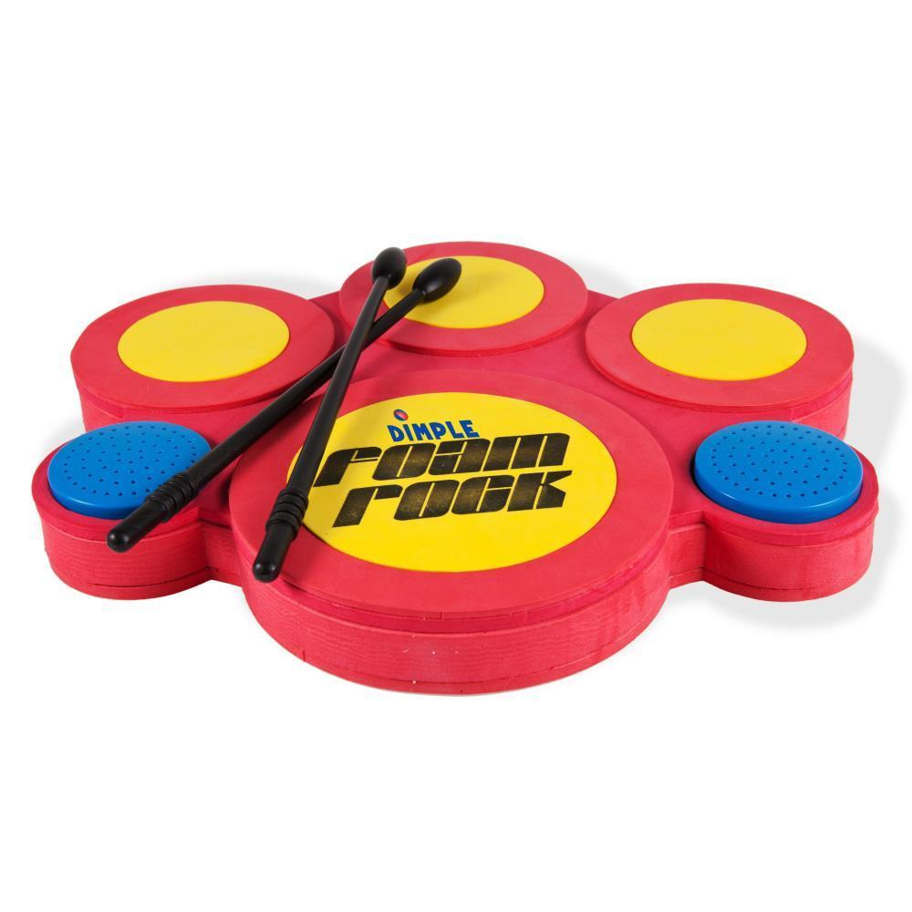Dimple DC12399 Kids Electric Drum Set with Foam Drum Pads...