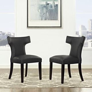 Curve Vinyl Dining Chair