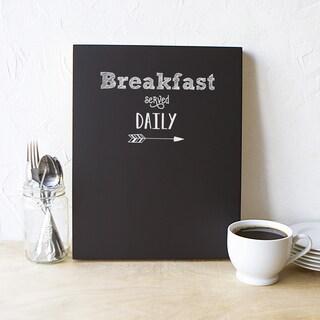 Breakfast Menu Chalkboard Wall Decor