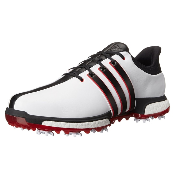 Shop Adidas Tour360 Boost Golf Shoes White Core Black Red - Free Shipping  Today - Overstock.com - 13470330 7934863c0