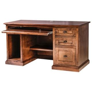 Forest Designs Mission Alder Wood Writing Desk