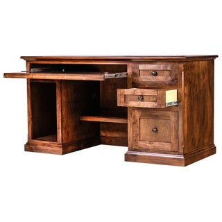 Forest Designs Traditional Alder Writing Desk with Keyboard Pullout