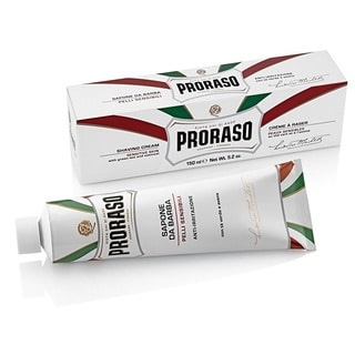 Proraso 5.2-ounce Shaving Cream with Green Tea & Oatmeal for Sensitive Skin