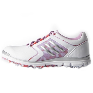 Adidas Adistar Tour Golf Shoes Ladies White/Matte Silver