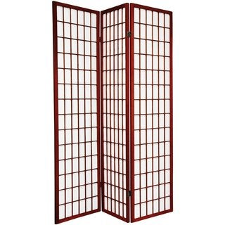 Q-Max 3-panel Japanese-style Cherry Room Screen Divider