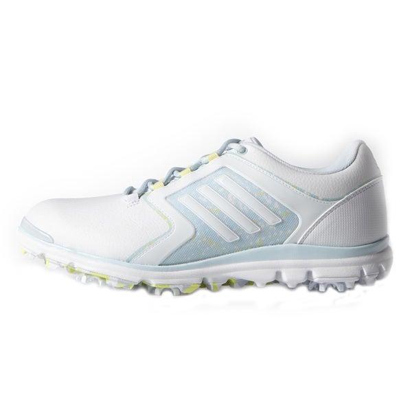 Adidas Adistar Tour Golf Shoes Ladies White/Soft Blue