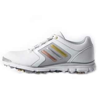 Adidas Adistar Tour Golf Shoes Ladies White/Silver