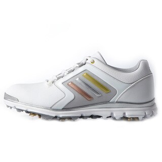 Adidas Adistar Tour Golf Shoes Ladies White/Silver (2 options available)