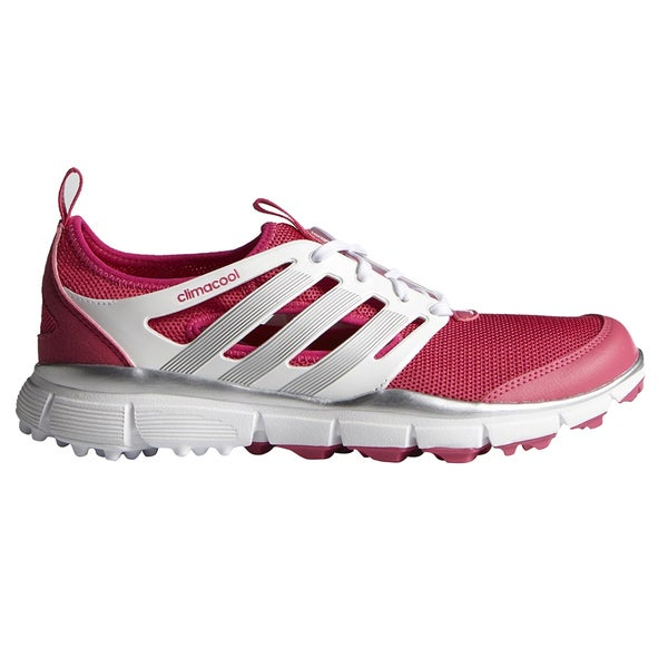 Adidas Climacool II Golf Shoes Ladies Rasberry Rose/FTWR White