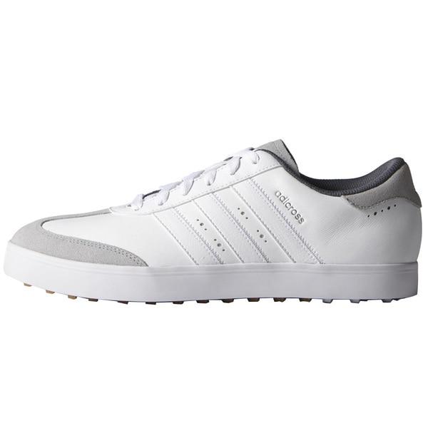 Adidas Adicross V Golf Shoes  White/FTWR White/Gum