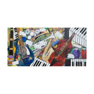 Jazz and Blues Notes Canvas Art by Kelvin Henderson