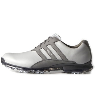 Adidas Adipure Classic Golf Shoes  Clear Onyx/Dark Silver