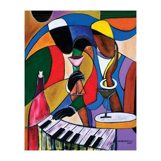 Jazz Jams II Canvas Art by Kelvin Henderson