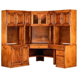 Forest Designs Traditional Alder Modular Desk
